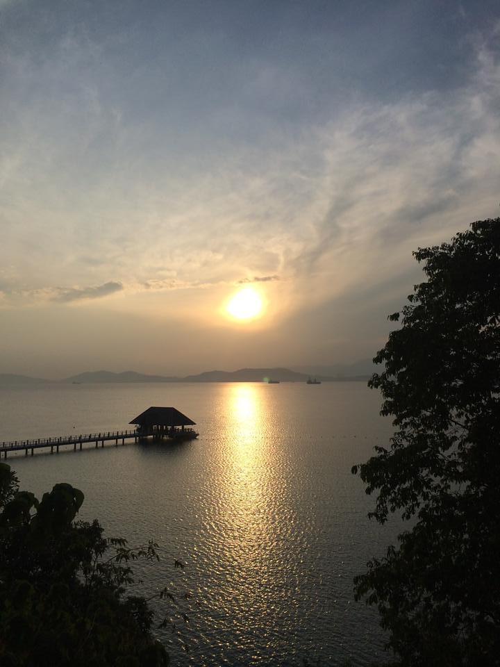 gaya island resort - sunrise