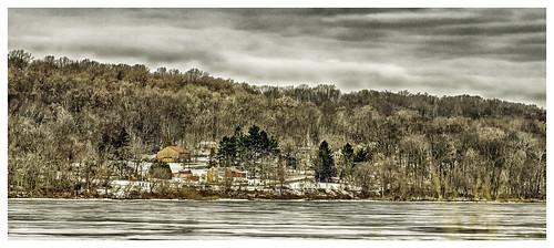 View across the lake_DSC7922 photoshop NIK edit