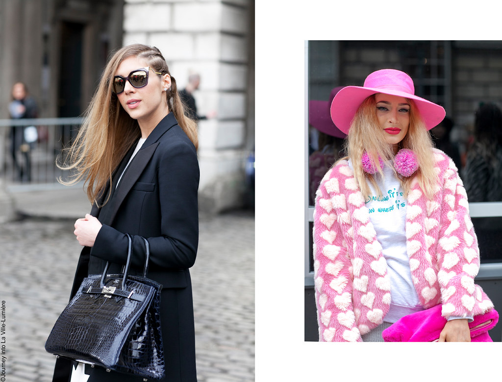 London Fashion Week, Street style