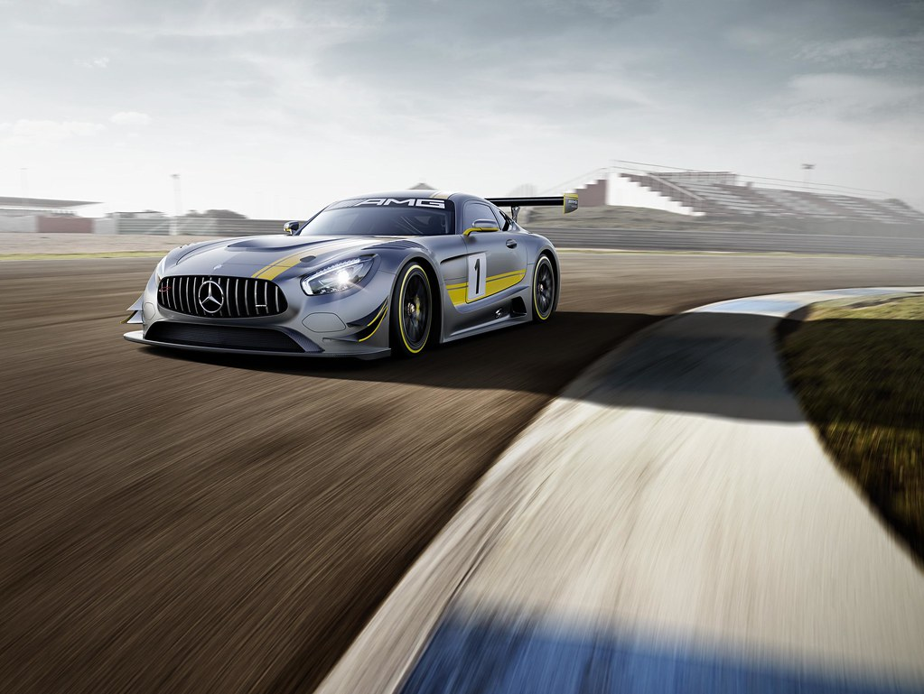 All-out attack: The new Mercedes-AMG GT3