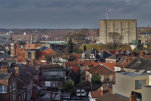 Norwich rooftops [Project 365 2015 - 58/365]