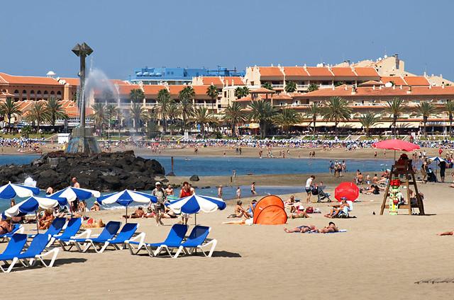 Playa de las Vistas, Los Cristianos, Tenerife