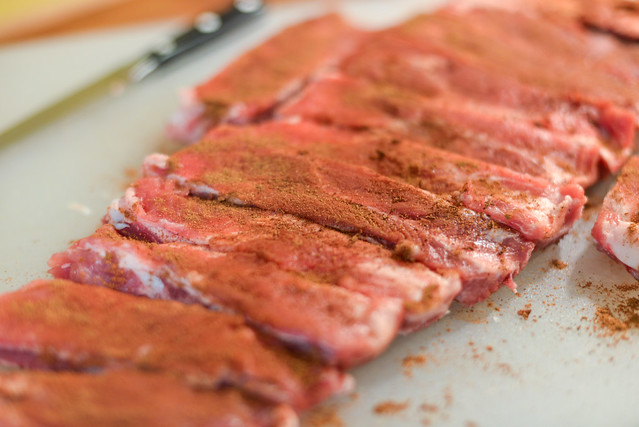 Grilled Chinese Char Siu Spare Ribs Recipe :: The Meatwave