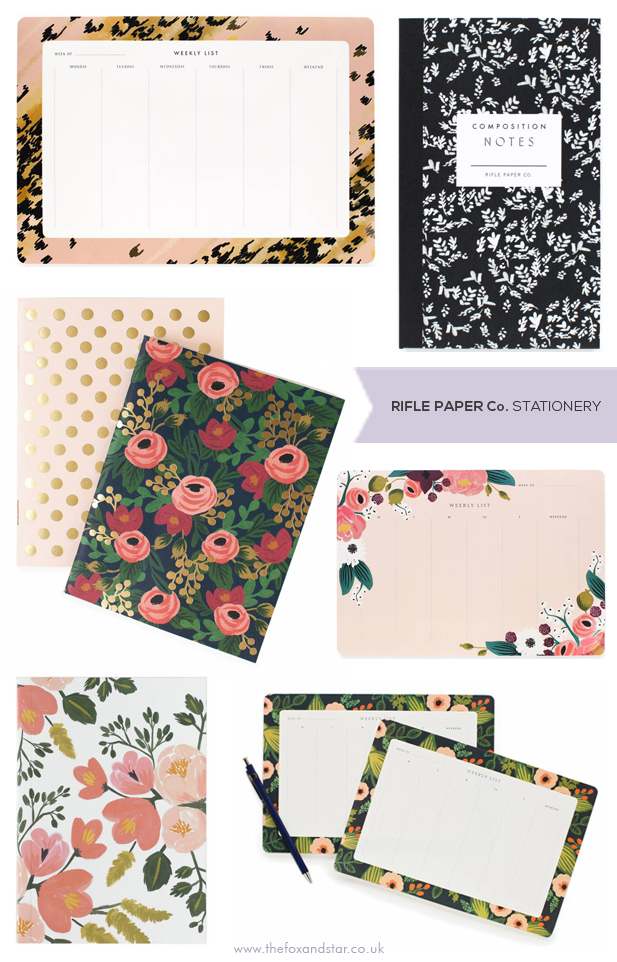 Rifle Paper Co Stationery at Fox and Star UK
