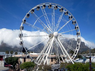 Image of Cape Wheel. southafrica capetown vawaterfront capewheel