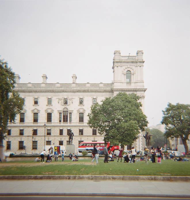Diana in London