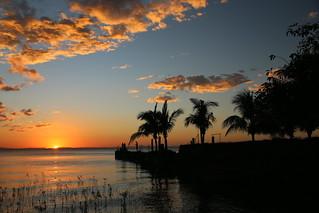 Sunset from Hacienda Merida.  Ometepe, NIcaragua.