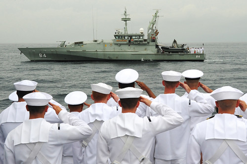 US, Australian, Indonesian Navies Commemorate WWII Battle of Sunda Strait Aboard USS Sampson