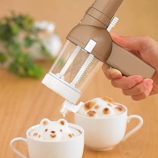 TAKARA TOMY【3D 立體咖啡拉花機】打造一杯專屬於你的立體咖啡!!