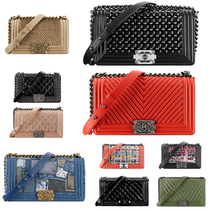 Collage Chanel Boy Bags 2015 (2)