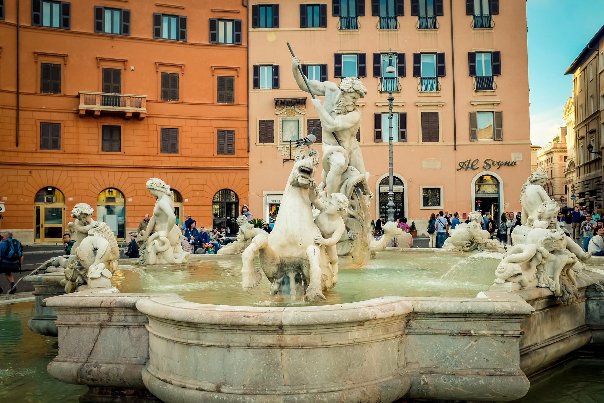 Piazza Navona, Fontana del Moro
