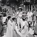Robert Capa  INDOCHINA 1954 (1) - Binh sĩ Pháp chờ trẻ em qua đường tại Hà Nội (23/5/1954) by manhhai