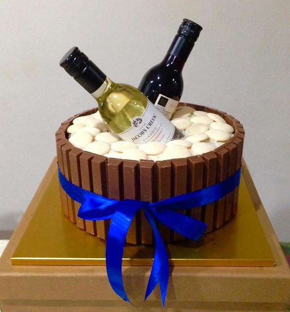 KitKat Inspired Celebratory Cake by Nimfa Maravilla of Too-Nice-to-Slice