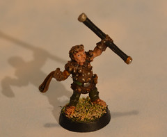Ral Partha Halfling with Sling