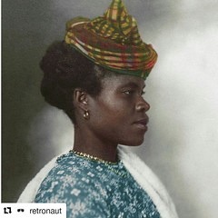freewomenofcolor: This FWoC/FWoAD Decode via… #Repost @retronaut with @repostapp ・・・ c. 1906-1911: #Ellis Island #immigrant from #Guadeloupe, in #color (link - http://goo.gl/Awd8Cd)