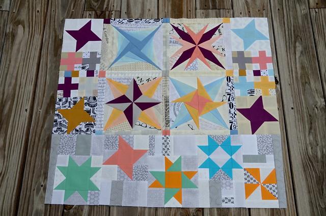 Round Trip Quilts - Chelsea's Quilt, Round 2