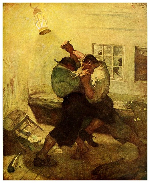 005-Treasure Island -1911-ilustrada por NC Wyeth