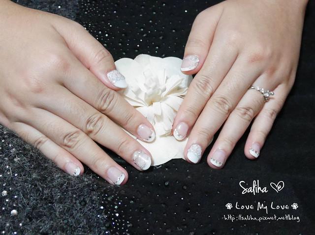 婚禮結婚新娘美甲指甲 (2)
