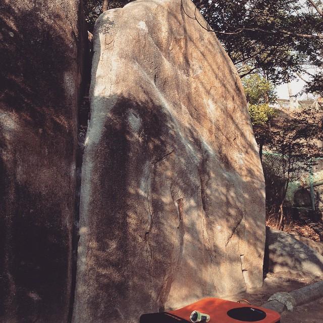 岩初め ショーギ岩から