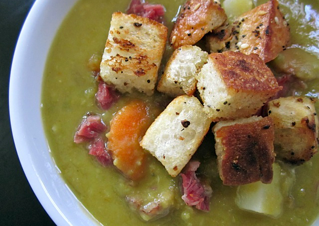 split pea soup with ham hocks