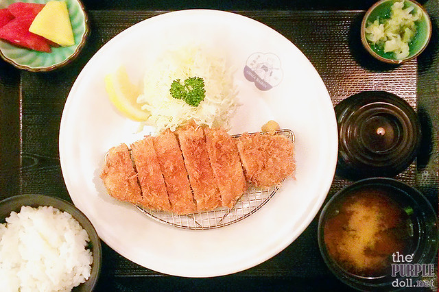 Kurobuta Rosu Katsu Set (P595)