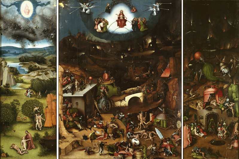 Lucas Cranach (after Hieronymus Bosch) - The Last Judgement, 1524