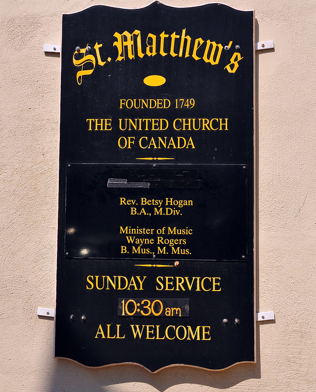 St. Matthew's Church, Halifax, Nova Scotia