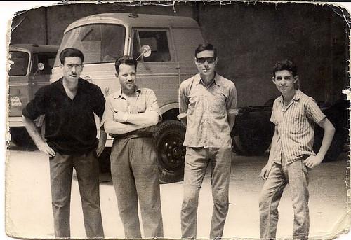 Treballadors de l'empresa Nazar de Saragossa. Col·lecció Sr. Antonio Gámez Cano