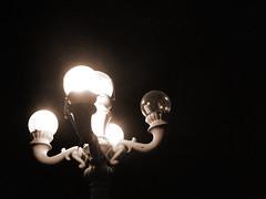 poi(0.0), incandescent light bulb(1.0), light fixture(1.0), light(1.0), darkness(1.0), night(1.0), lighting(1.0),