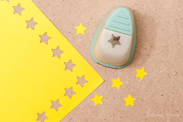Yellow Paper Stars