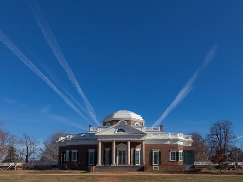 51/52-3 Monticello with contrails