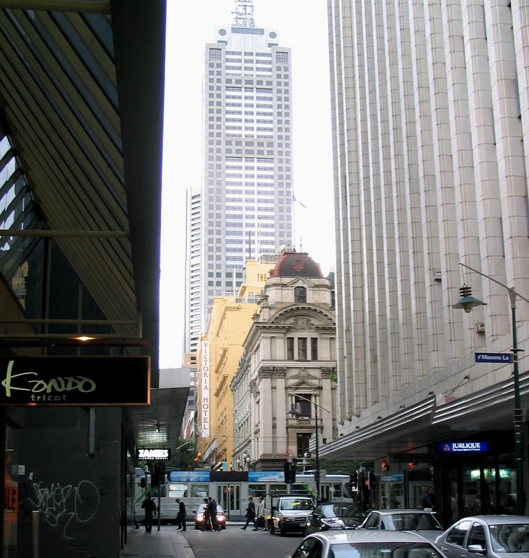 Little Collins St, February 2005