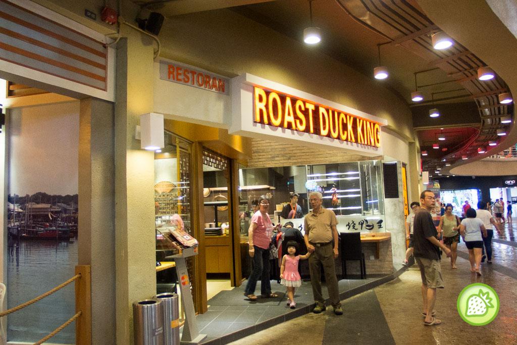 roast duck king
