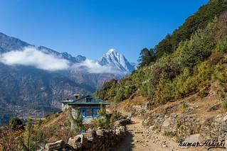 Incredible Landscape near Phakding village