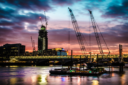 Sundown on Blackfriars