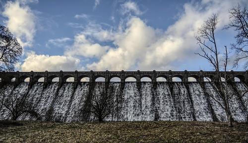 uk water wales architecture nikon engineering gb waterwall lakevyrnwy watersupply severntrentwater d7100 vyrnwydam nikonafsdxzoomnikkor1855mmf3556gedii
