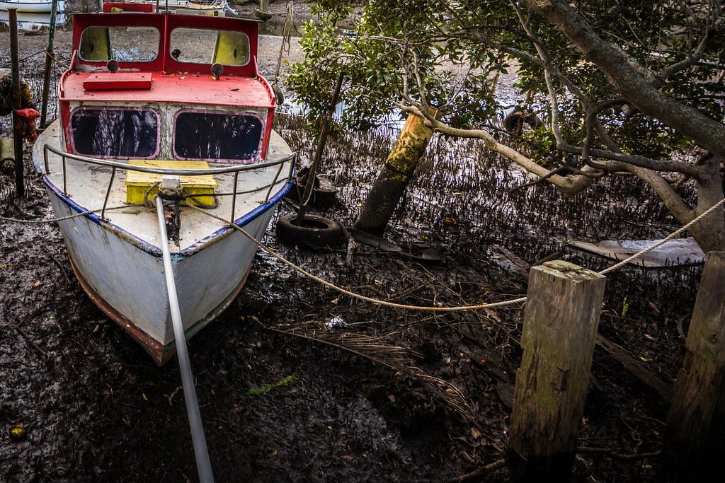 Abandoned Boats in Wynnum Creek