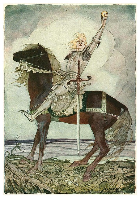 004-Grimm's Fairytale Treasure-1923- Illust. Gustaf Tenggren-via Animation Resources