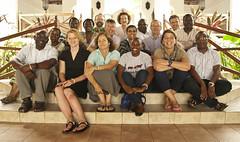Participants at the MilkIT writeshop held in Tanzania,5 March 2015