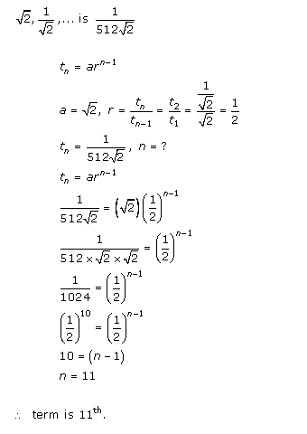 RD-Sharma-class-11-Solutions-Chapter-20-geometric-Progressions-Ex-20.1-Q-6