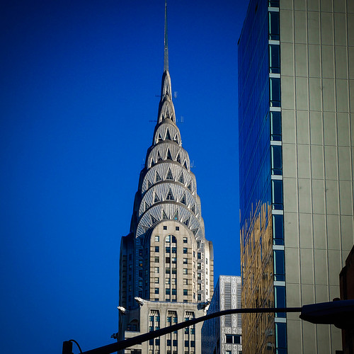 Chrysler Building, from downtown