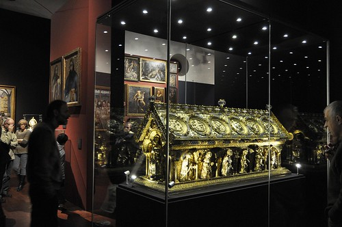 Výstava Hrady a zámky objevované a opěvované (19.12.2014-15.12.2015). Relikviář sv. Maura