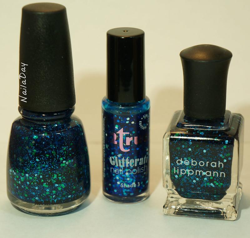 NailaDay: 2true Glitterati Shade 3