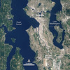 NASA Satellite Captures Super Bowl Cities - Seattle [annotated]