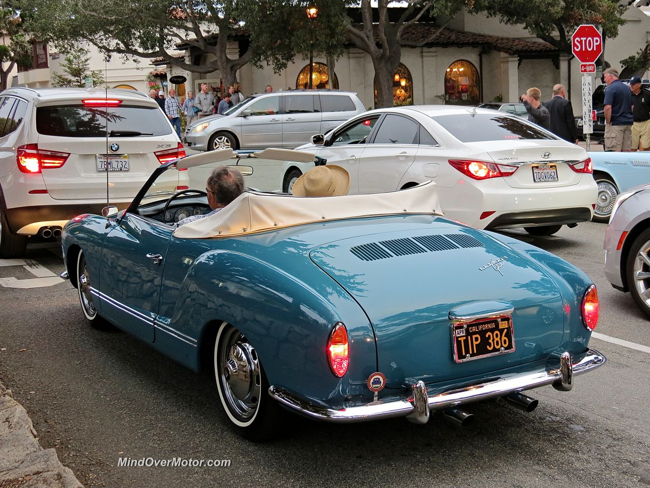 VW Karmann Ghia Convertible Rear
