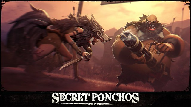Secret Ponchos: Wolf vs. Gordo