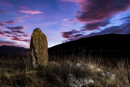 cerdanya menhir fotografianocturna megalitico isovol isóbol