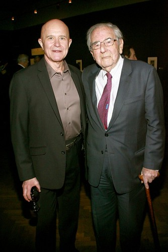 """Robert Yahmer, Alex Rosenberg==.The National Arts Club Celebrates the Opening of Francisco de Goya y Lucientes """"Los Caprichos""""==.The National Arts Club, 15 Gramercy Park South, NYC.==.January 8, 2015==.©Patrick Mcmullan==.photo-Sylvain Gaboury/P"""