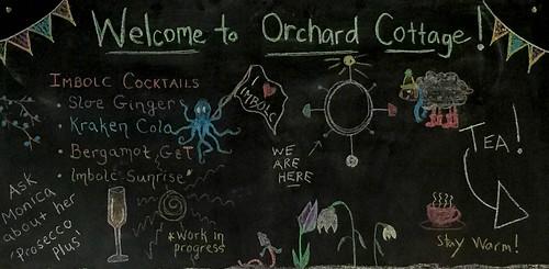 Imbolc Chalkboard