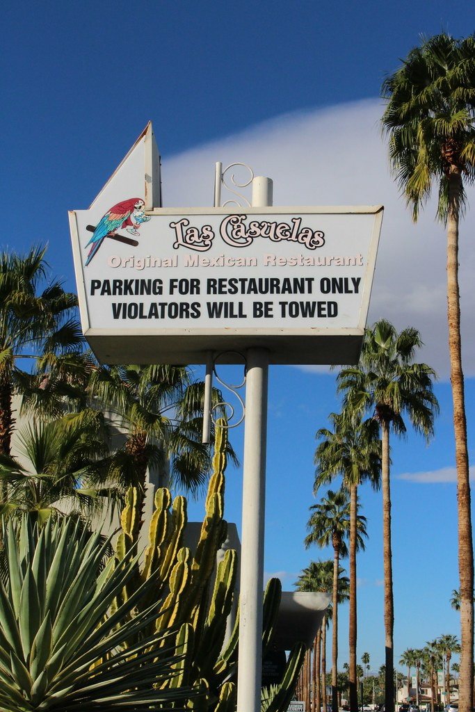 Las Casuelas Mexican Restaurant Palm Springs California